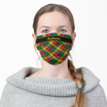 Clan Buchanan Tartan Adult Cloth Face Mask
