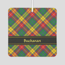 Clan Buchanan Tartan Air Freshener