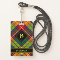 Clan Buchanan Tartan Badge