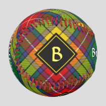 Clan Buchanan Tartan Baseball