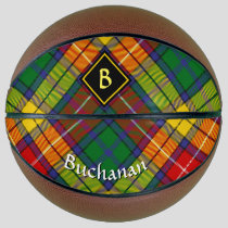 Clan Buchanan Tartan Basketball