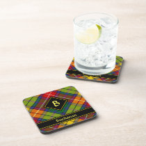 Clan Buchanan Tartan Beverage Coaster