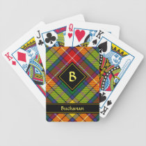 Clan Buchanan Tartan Bicycle Playing Cards