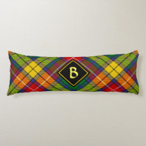 Clan Buchanan Tartan Body Pillow