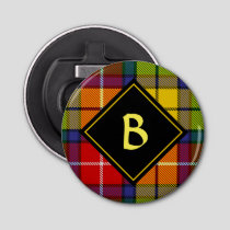 Clan Buchanan Tartan Bottle Opener