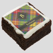 Clan Buchanan Tartan Brownie