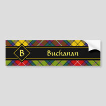 Clan Buchanan Tartan Bumper Sticker