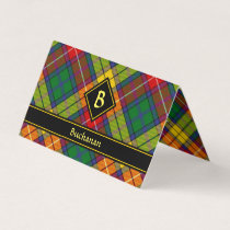 Clan Buchanan Tartan Business Card