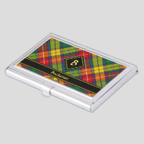Clan Buchanan Tartan Business Card Case