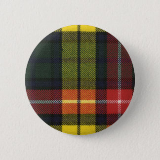 Clan Buchanan Tartan Button