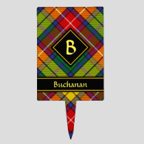 Clan Buchanan Tartan Cake Topper
