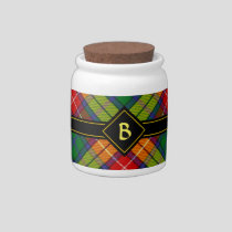 Clan Buchanan Tartan Candy Jar