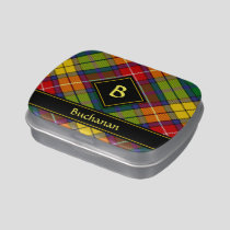 Clan Buchanan Tartan Candy Tin