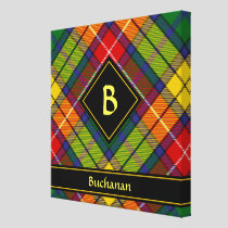 Clan Buchanan Tartan Canvas Print