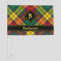 Clan Buchanan Tartan Car Flag