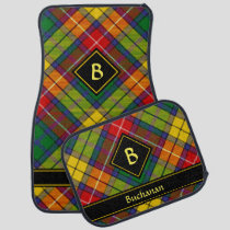 Clan Buchanan Tartan Car Floor Mat