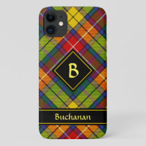 Clan Buchanan Tartan iPhone 11 Case