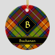 Clan Buchanan Tartan Ceramic Ornament