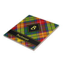 Clan Buchanan Tartan Ceramic Tile