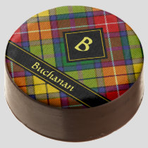 Clan Buchanan Tartan Chocolate Covered Oreo