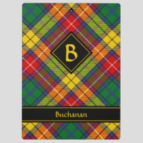 Clan Buchanan Tartan Clipboard