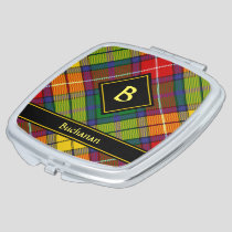 Clan Buchanan Tartan Compact Mirror