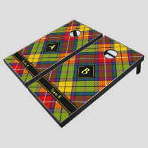 Clan Buchanan Tartan Cornhole Set