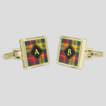 Clan Buchanan Tartan Cufflinks