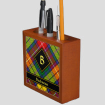 Clan Buchanan Tartan Desk Organizer
