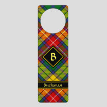 Clan Buchanan Tartan Door Hanger