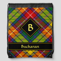 Clan Buchanan Tartan Drawstring Bag