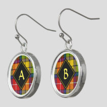 Clan Buchanan Tartan Earrings