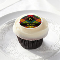 Clan Buchanan Tartan Edible Frosting Rounds