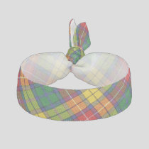 Clan Buchanan Tartan Elastic Hair Tie