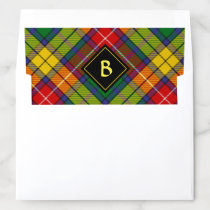 Clan Buchanan Tartan Envelope Liner