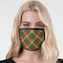 Clan Buchanan Tartan Face Mask