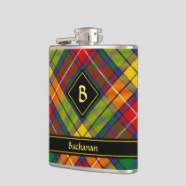 Clan Buchanan Tartan Flask