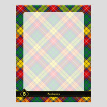Clan Buchanan Tartan Flyer
