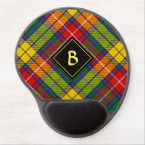 Clan Buchanan Tartan Gel Mouse Pad