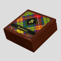Clan Buchanan Tartan Gift Box