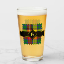 Clan Buchanan Tartan Glass