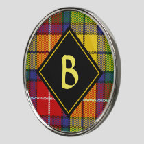 Clan Buchanan Tartan Golf Ball Marker