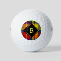 Clan Buchanan Tartan Golf Balls