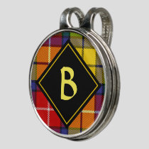 Clan Buchanan Tartan Golf Hat Clip