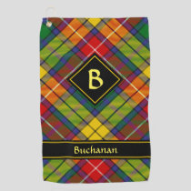 Clan Buchanan Tartan Golf Towel