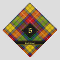 Clan Buchanan Tartan Graduation Cap Topper