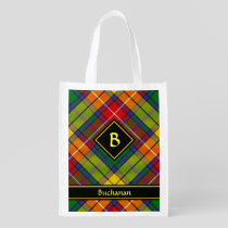Clan Buchanan Tartan Grocery Bag