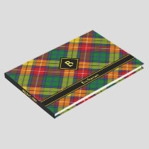 Clan Buchanan Tartan Guest Book