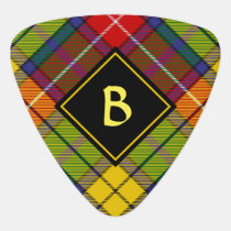 Clan Buchanan Tartan Guitar Pick