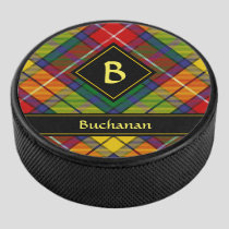 Clan Buchanan Tartan Hockey Puck
